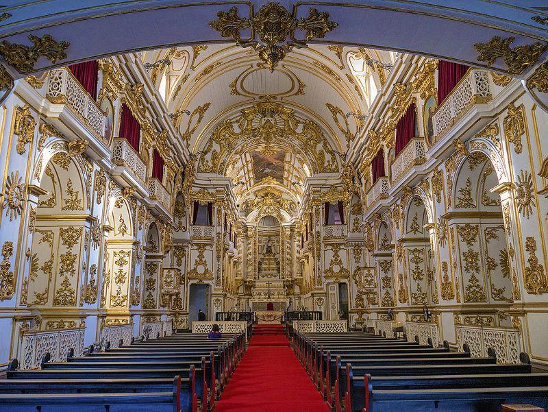 Antiga catedral do Rio de Janeiro, a Igreja de Nossa Senhora do Monte do Carmo, no Centro da Cidade.