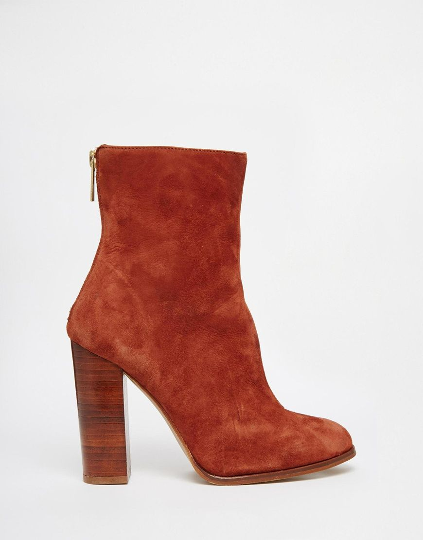 70s Block River Suede Heel BootThinking SHOES Island kZiOuPTX