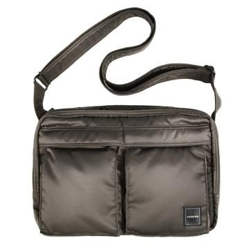Porter International Shoulder Bag In Chocolate