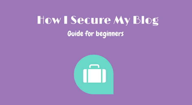 How to secure WordPress blog