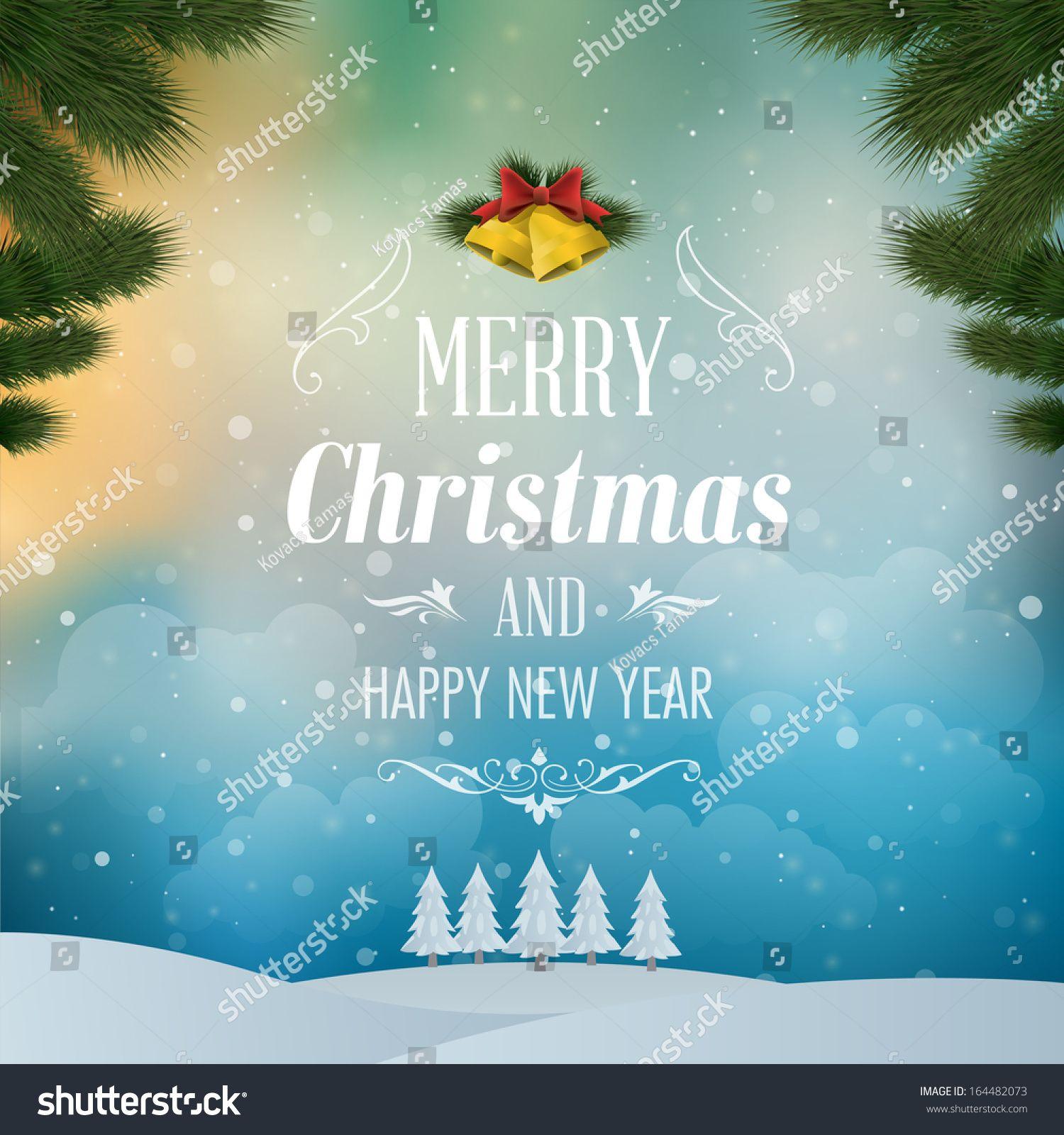 Merry Christmas Landscape Vector Illustration Ad Ad Christmas Merry Landscape Illustratio Christmas Backdrops Christmas Landscape Merry Christmas Banner