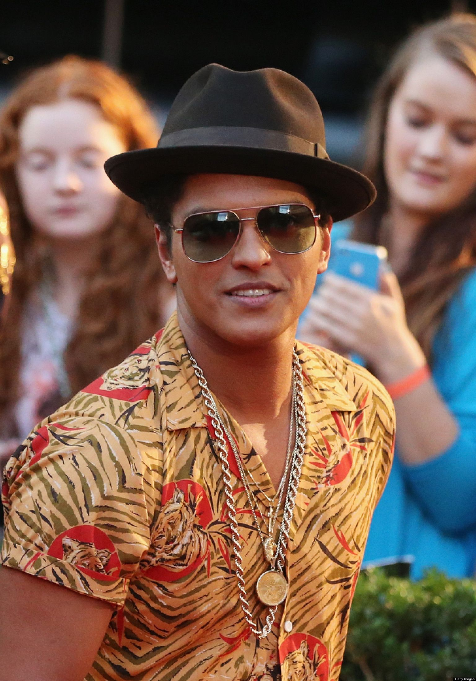 The mother of Grammywinning pop star Bruno Mars died in