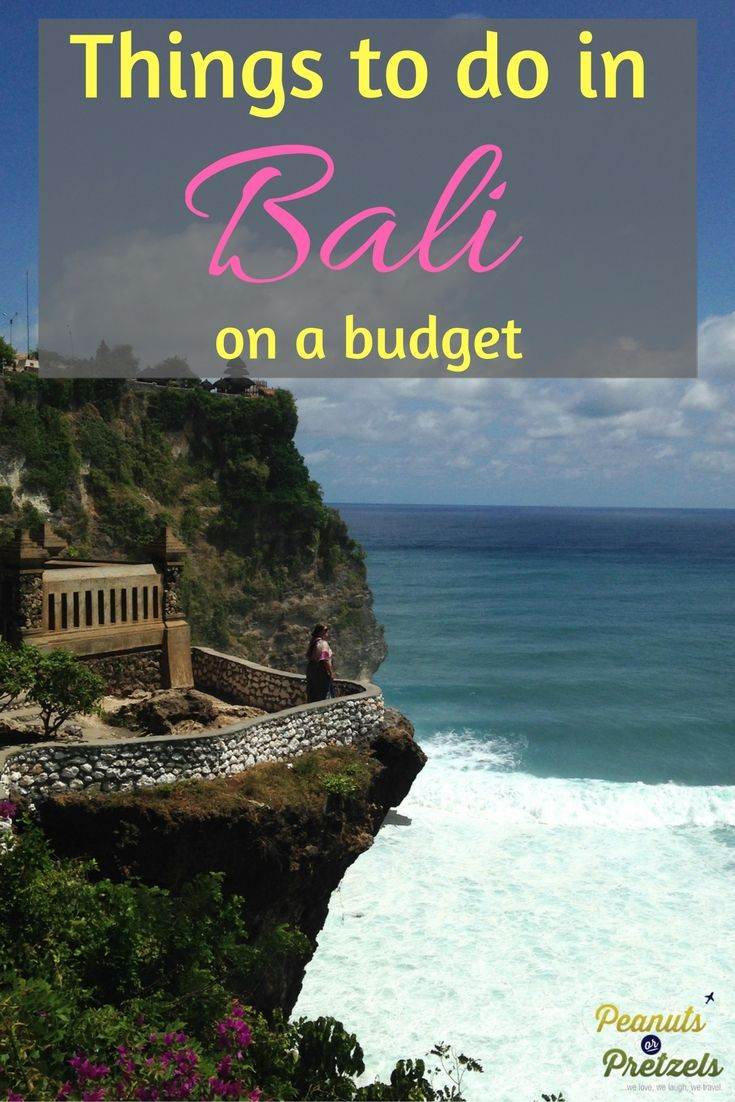 Things to do in Bali on a Budget Bali, Things to do