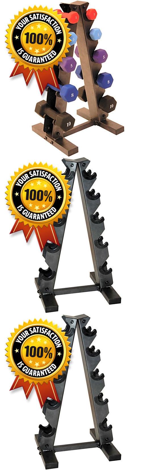 Weight Storage 179819 Cap Barbell A Type Dumbbell Rack Hand Weights Lightweight Holder Workout Dumbel