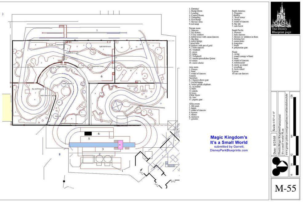 Disney Park Blueprints Its a Small World MK Disney Pinterest - new blueprint background image