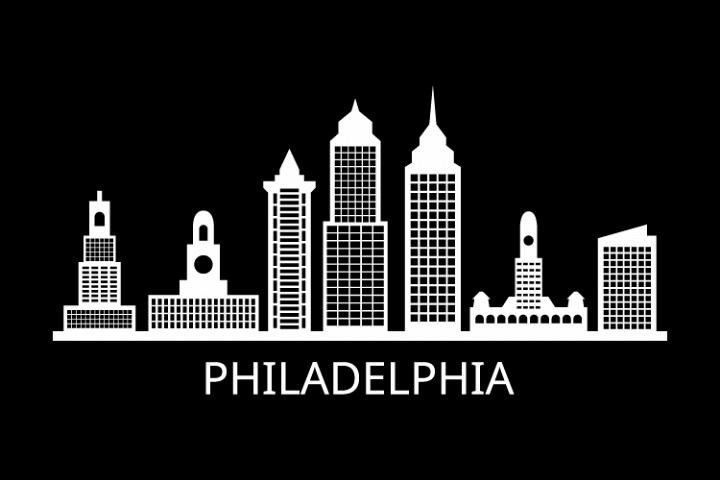 Philadelphia Skyline Philadelphia Skyline Skyline Silhouette Skyline