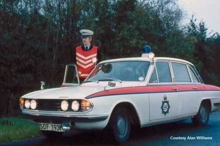 Image Result For Triumph 2000 Police Car