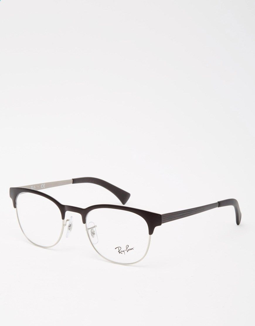 Ray-Ban Optical Clubmaster Glasses RX6317 just got these in silver!  Probably favorite frame so far c95a6d034b