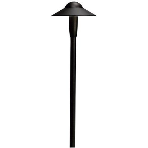Kichler 22 Inch Tall x 6-1/4 Inch Landscape Light 12V LED Path/Spread 2700K - Textured Black 15870BKT27R #landscapelightingdesign