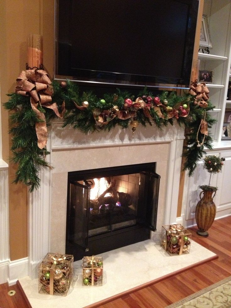 18+ Fireplace hearth christmas decorating ideas ideas in 2021