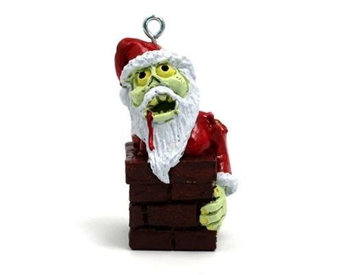 zombie christmas   Zombie Santa Claus Christmas Ornament – $18.95 - Zombie Christmas Zombie Santa Claus Christmas Ornament €� $18.95