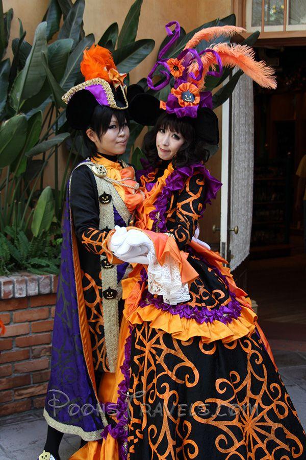 tokyo disneyland halloween costumes