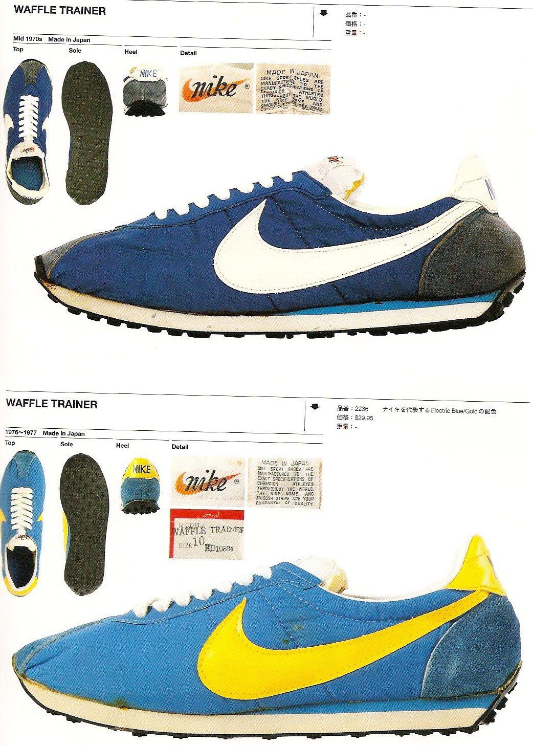 online store 8c6ca 4f034 Deportes, Nike Waffle Trainer, Zapatillas Vintage, Nike De Época,  Zapatillas Para Correr