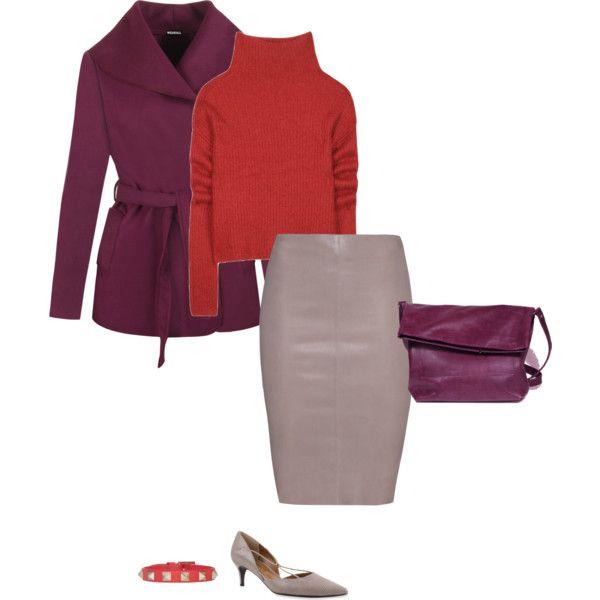 How To Wear Mauve For A Deep Autumn Pinterest Deep autumn, Coral