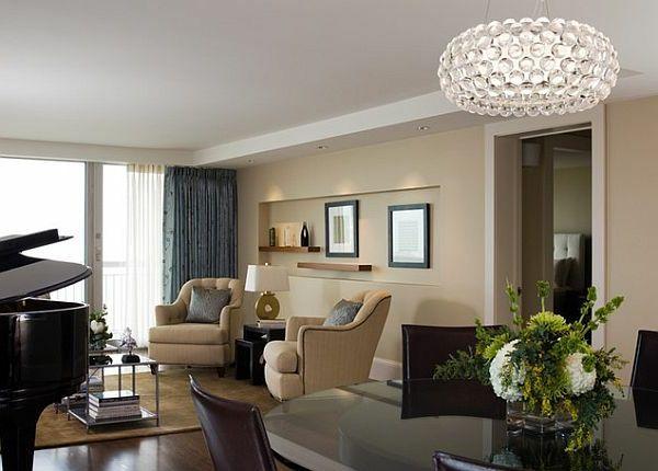 30 Pendelleuchten fürs Esszimmer, welche einen doppelten Zweck als - wohnzimmer esszimmer ideen