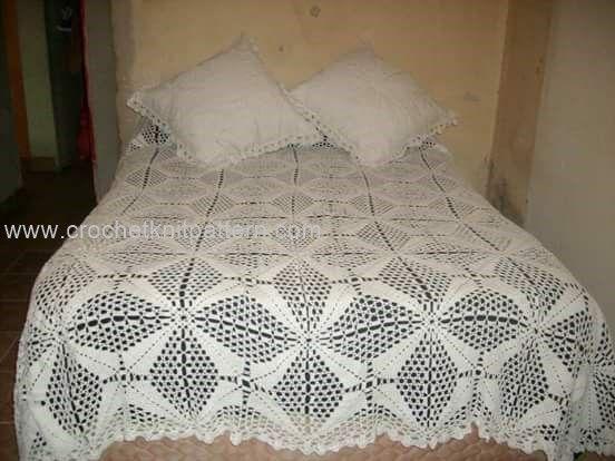 Crochet Bedspread Patterns Part 2 | Crochet bedspread pattern ...