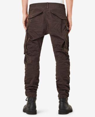 6e88e163fb4a G-Star Raw Men s Rovic 3D Slim-Fit Tapered Cargo Pants - Gray 30x32 ...