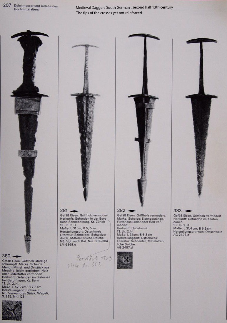 Ethnographic Arms & Armour - Medieval European Daggers and short Swords