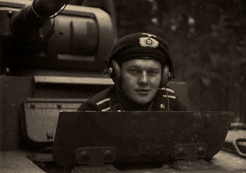 A German tank officer, via Jedem das seine