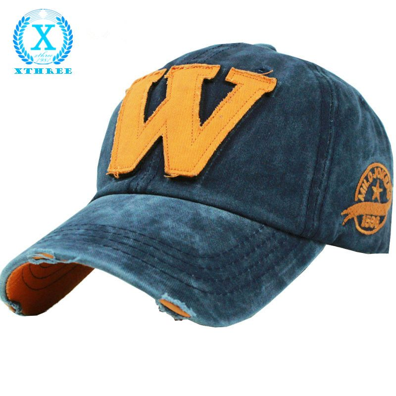 wholesale 2015 hot cotton embroidery letter W baseball cap snapback caps  sports hat fitted bone casquette hat for men custom ... 31a183ec253b