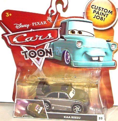 DISNEY PIXAR MOVIE CARS TOON KAA REESU #33 By MATTEL. $34