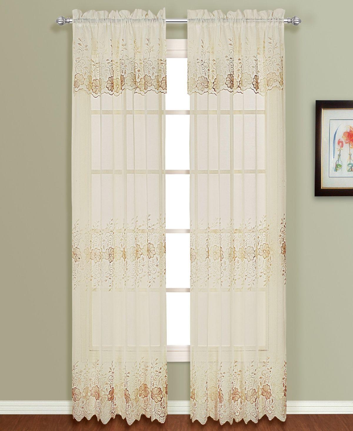 United Curtain Co Inc Marianna 50 X 63 Window Panel Reviews
