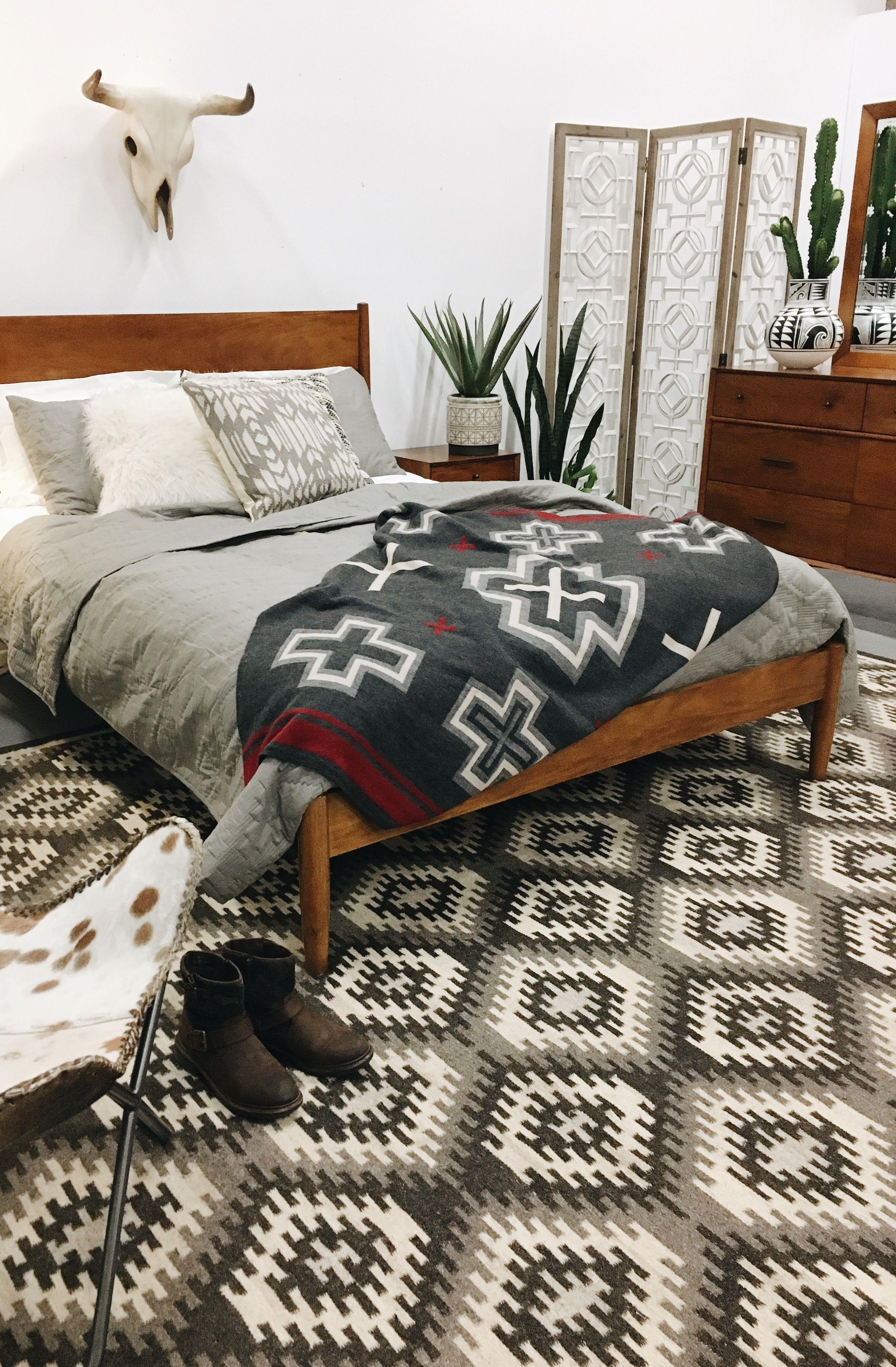 Midtown Bed Cherry in 2020 Simple bedroom design, Home
