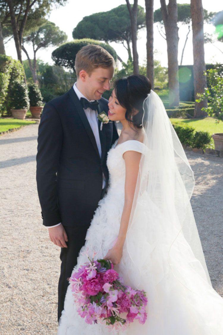 A Marchesa Bride for a Stunning Jew-ish Destination Wedding with a ...