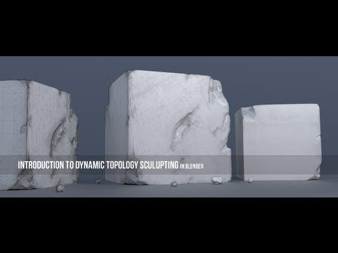 Introduction to Dynamic Topology Sculpting in Blender - YouTube