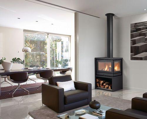 po le bois d 39 angle contemporain habit ld li rocal po les pinterest. Black Bedroom Furniture Sets. Home Design Ideas