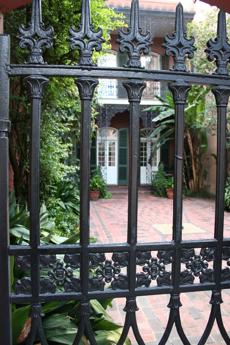 Image Result For New Orleans Courtyard Gates With Images New
