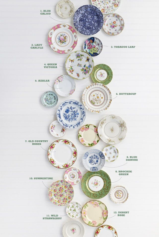 the guide to antique floral china patterns