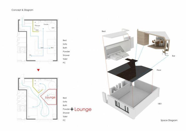 GroB Hotelzimmer Design Mit Indirekter Beleuchtung U2013 Luxus Pur! #beleuchtung # Design #hotelzimmer #