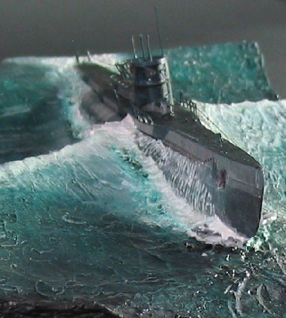 U Boot Typ Vii D Modellbau Militar Diorama Modell