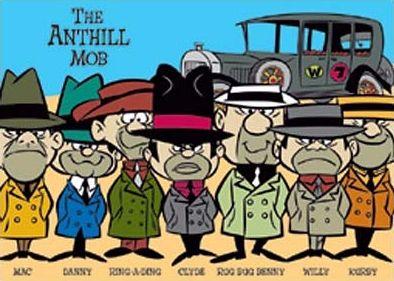 Anthill Mob Of The Dwarf Mafia Desenhos Animados Antigos
