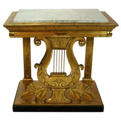 French Gilt-Wood Pier Table