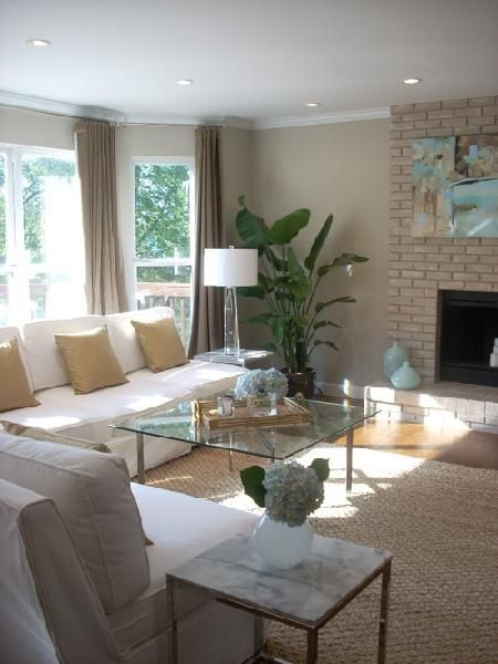 Living Room Benjamin Moore Grant Beige Family Room