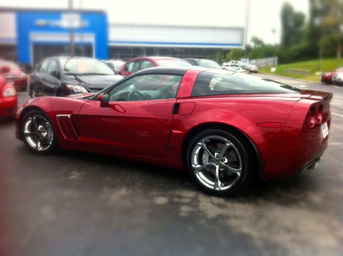 2011 Corvette Grand Sport detail. stlouis autoexotica