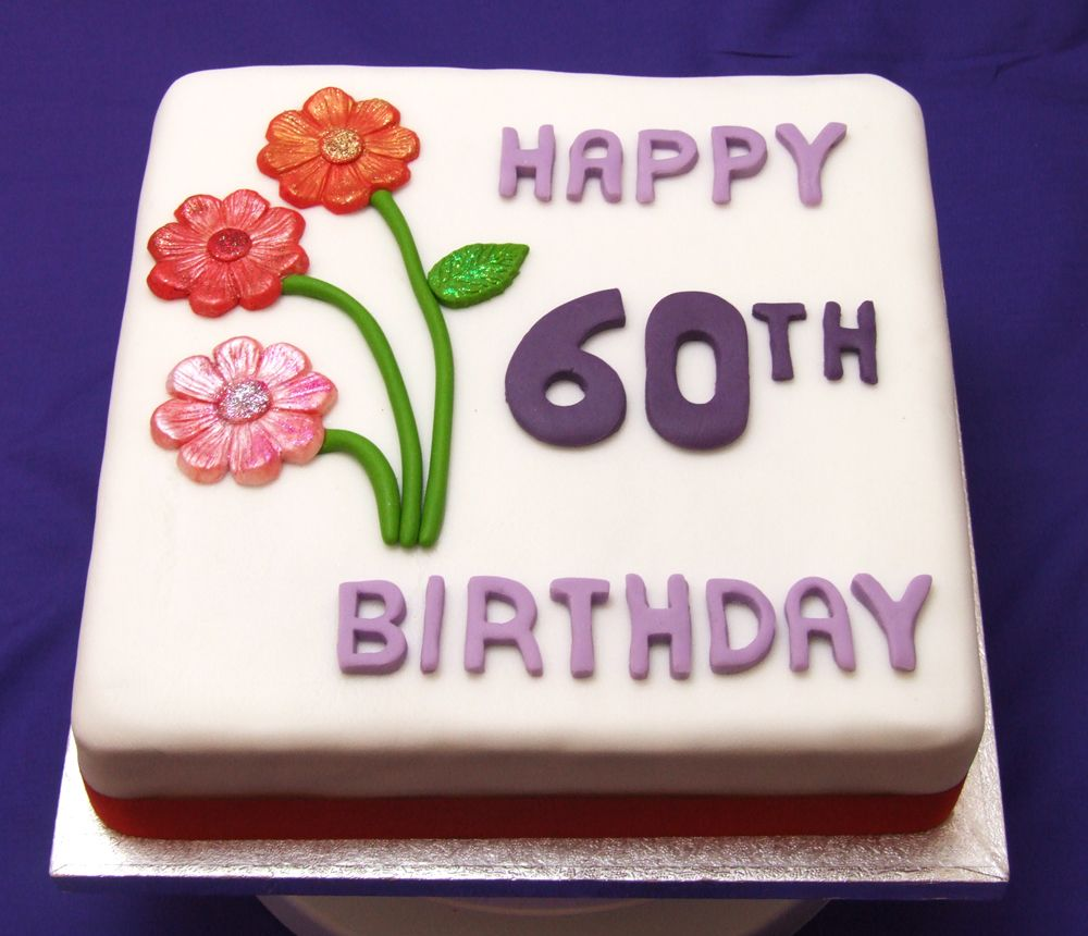 60th Birthday Party Ideas For Women 60th Birthday Cake
