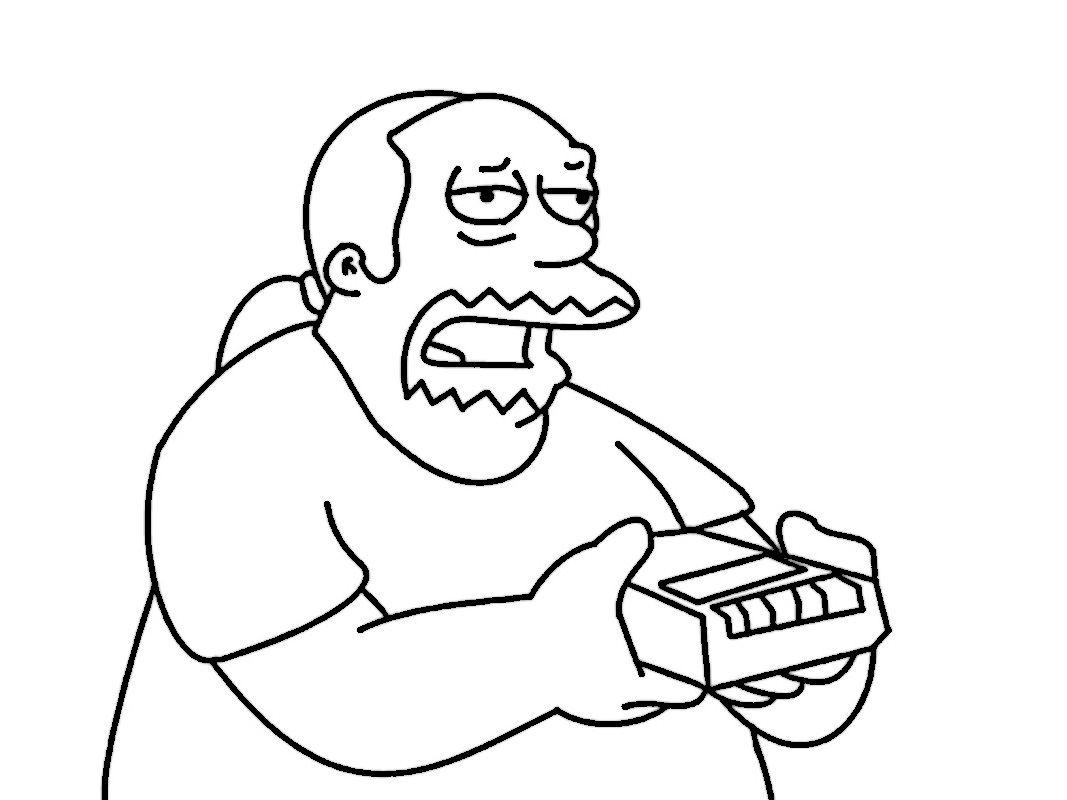 Dibujos para Colorear Los Simpsons 40 | Dibujos para colorear para ...