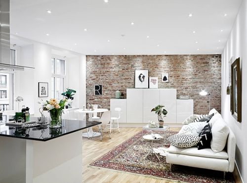 Awesome Idee Deco Salon Petite Surface Gallery  Amazing House