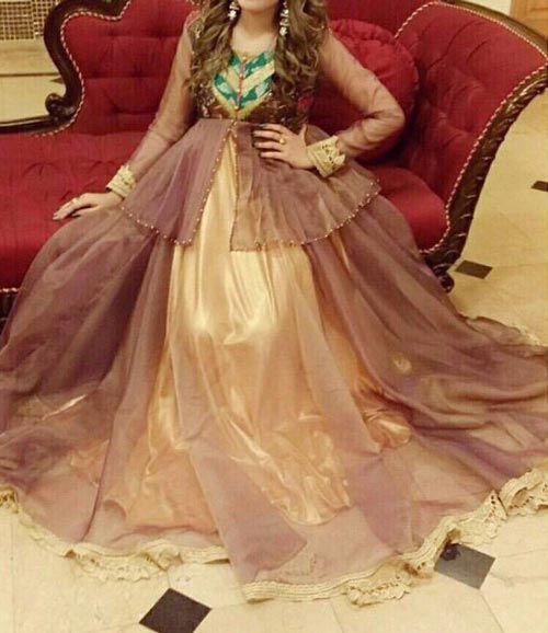 Net Dresses Frocks Gown, Shirt Shalwar Kameez Designs 2017 2018 ...