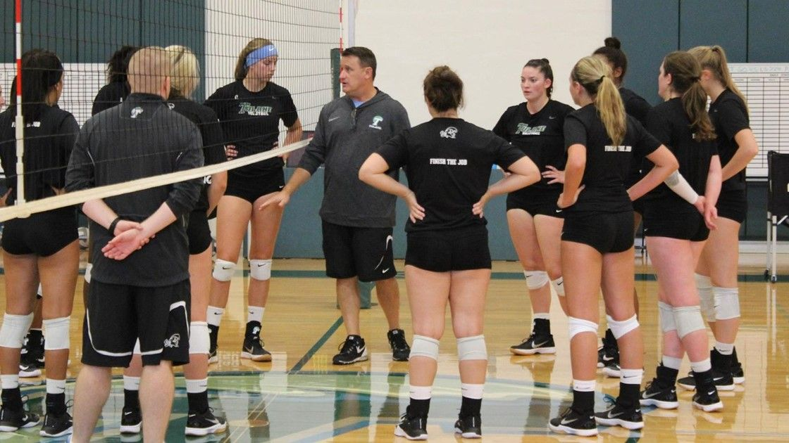 Volleyball Huddle First Practice Volleyball News Women Volleyball Volleyball