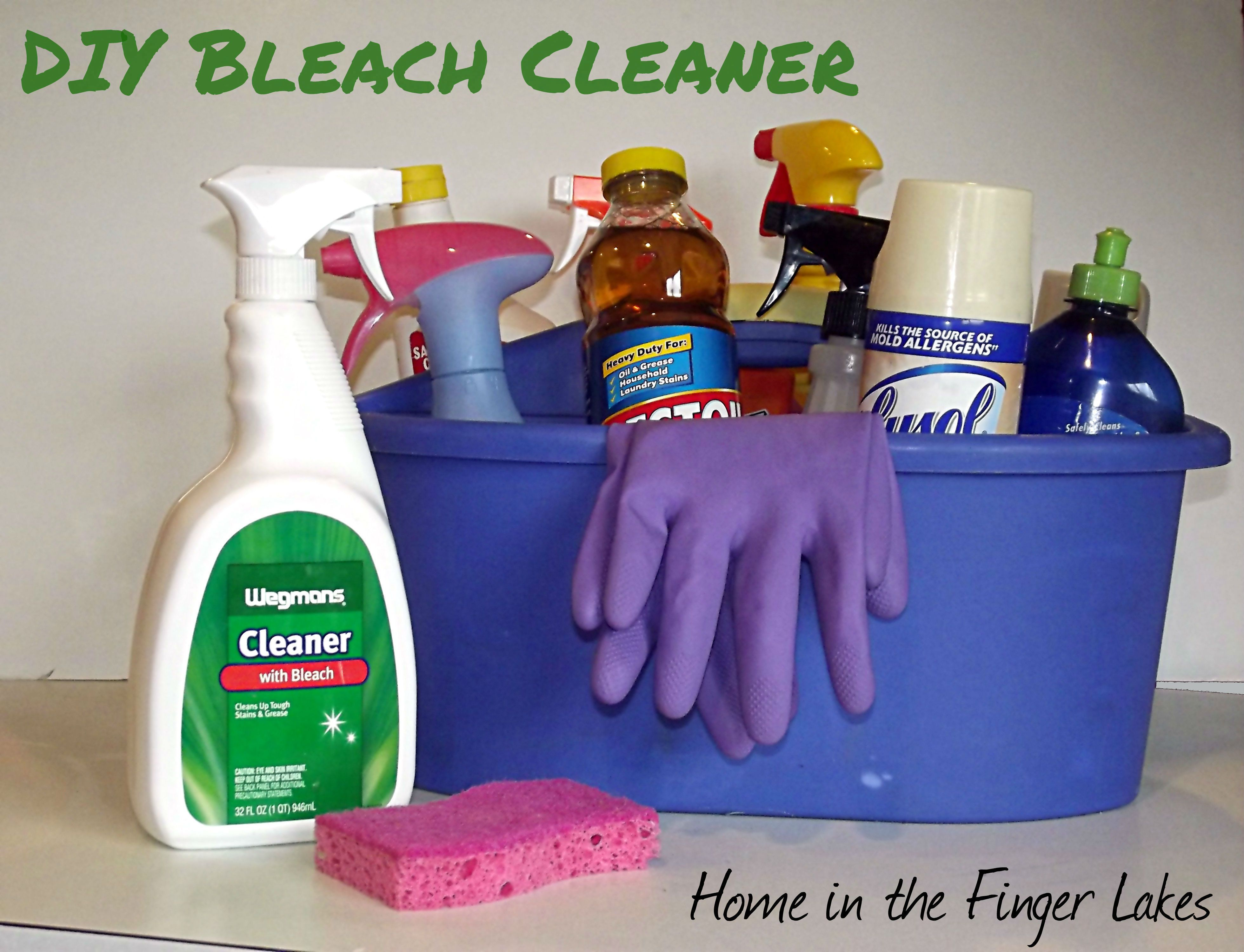 DIY Bleach Cleaner Recipe Homemade grout cleaner