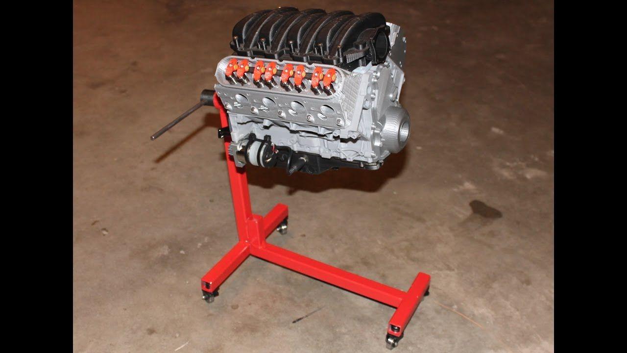 3D Printed Chevy Camaro V8 LS3 Full Working Model