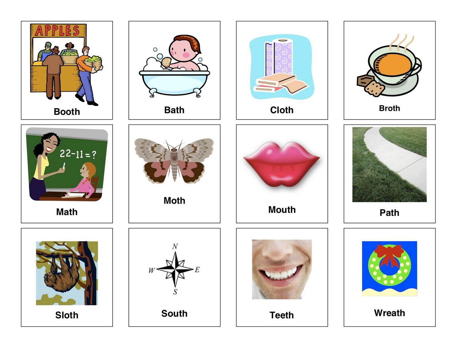 Clear Speech Therapy Th Words
