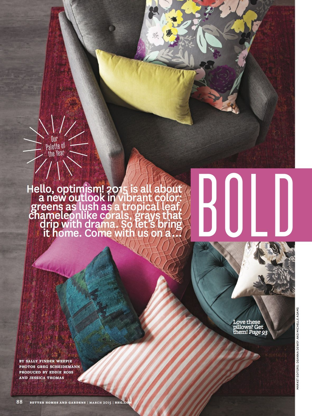 Better Homes & Gardens Color Palette of the Year! | The Joyful Organizer