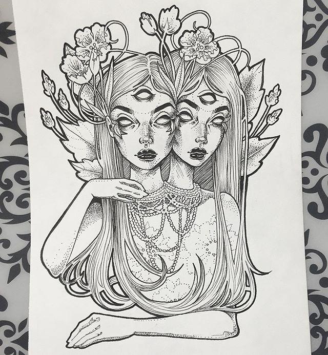 Line Art Instagram : Instagram post by 🧜🏻‍♀️ gwen d arcy graphicartery