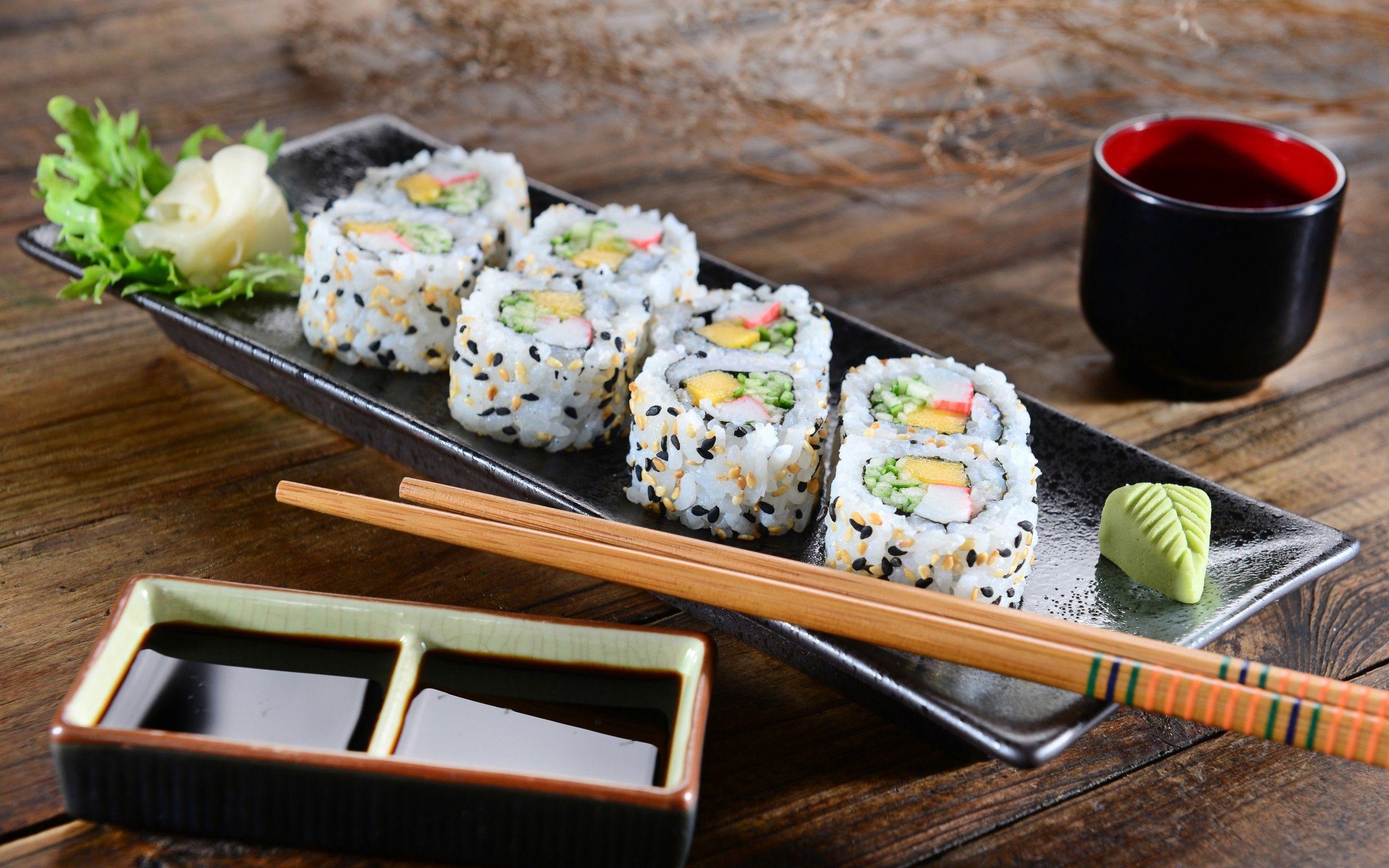 Обои соус, Японская кухня, имбирь. Еда foto 8