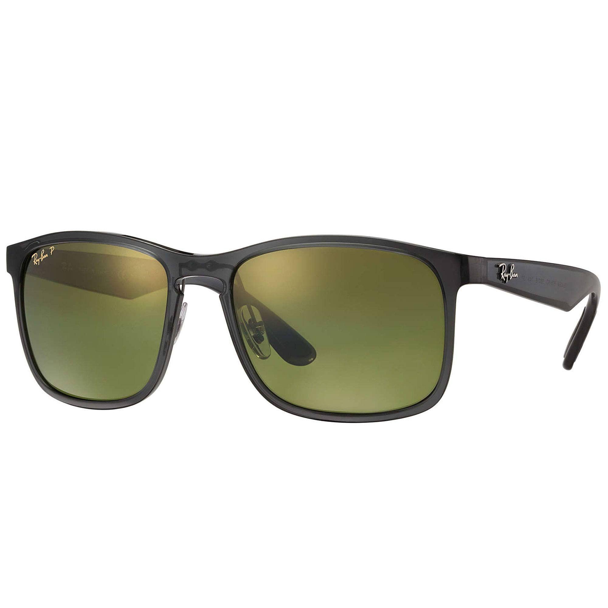 e8c7b3e67e Ray-Ban Shiny Grey Gold RB4264 Polarized Sunglasses
